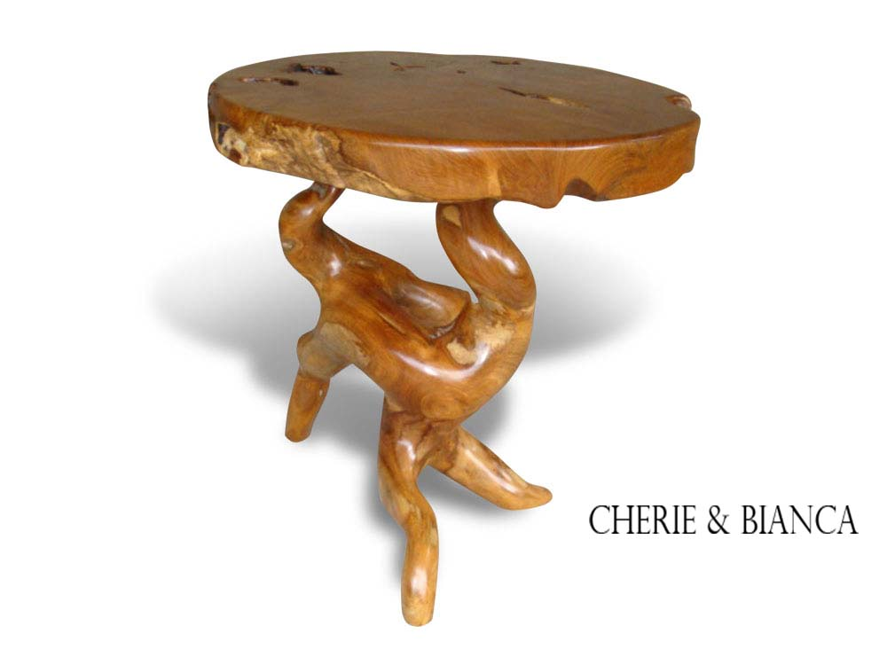 Cheriebianca.com taek root furniture round top table 400 85x85x75cm copy 604x270