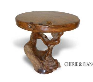 Cheriebianca.com taek root round top table m 400 100x100x80cm copy