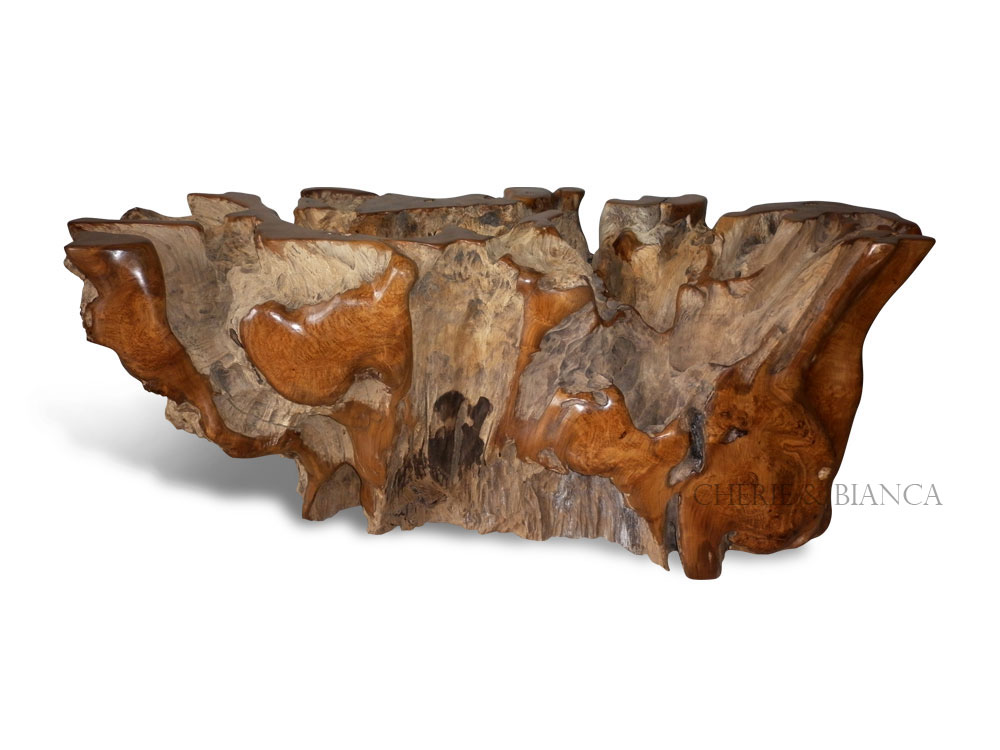 cheriebianca.com Teak Root FurnitureDining Table