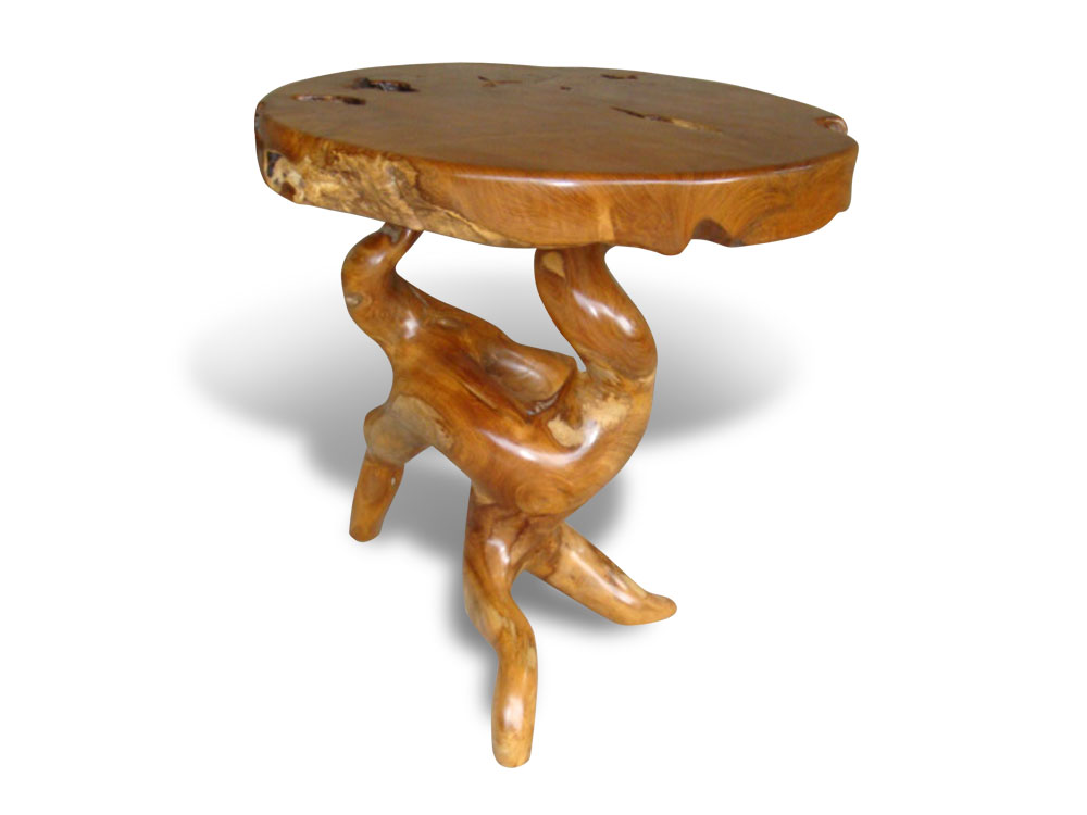 root-40,cheriebianca.com Teak Root Furniture Round Top Table 85x85x75cm