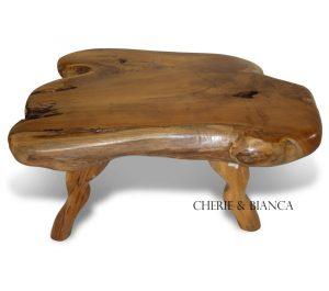 Root 4421b cheriebianca.com teak root slab coffe table 1
