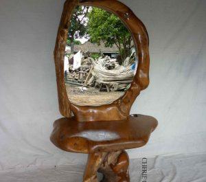 CherieBianca.com Tree Teak Root Furniture mirror 4547b