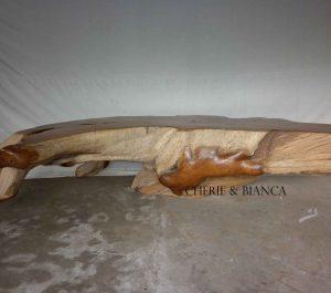 Cheriebianca.com Tree Teak Root Furniture 5598a table large 300x180x75cm