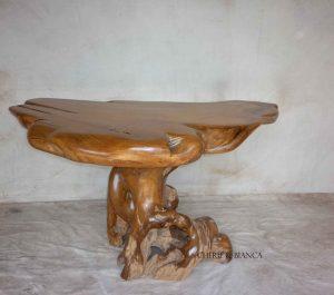 Cheriebianca.com Tree Teak Root Furniture 7072a top table 140x90x78cm