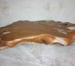 Cheriebianca.com Tree Teak Root Furniture 7101a natural table xxl 200x120x40cm