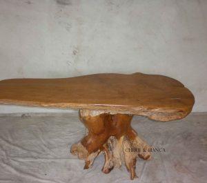 Cheriebianca.com Tree Teak Root Furniture 7107a dinning table182x100x80cm