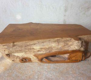 Cheriebianca.com Tree Teak Root Furniture 7128a log table 170x90x50cm