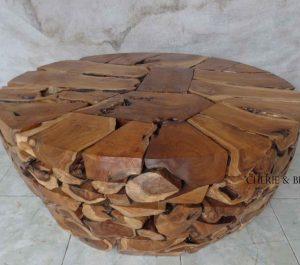 Cheriebianca.com Tree Teak Root Furniture 7204a round table 120x120x47cm