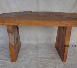 Cheriebianca.com Tree Teak Root Furniture 7211a table 132x60x70cm