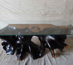 Cheriebianca.com Tree Teak Root Furniture table7199b
