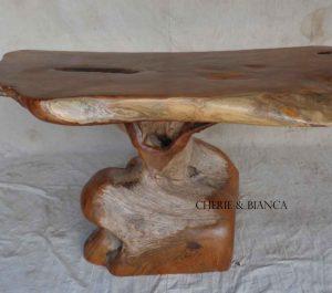 Cheriebianca.com tree teak root furniture 7209a coffe table 145x60x65cm